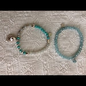 Jewelry - Blue Miracles bracelet by Annelien Coorevits